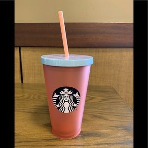 SUMMER STARBUCKS COLD CUP HENNA STYLE 12 oz